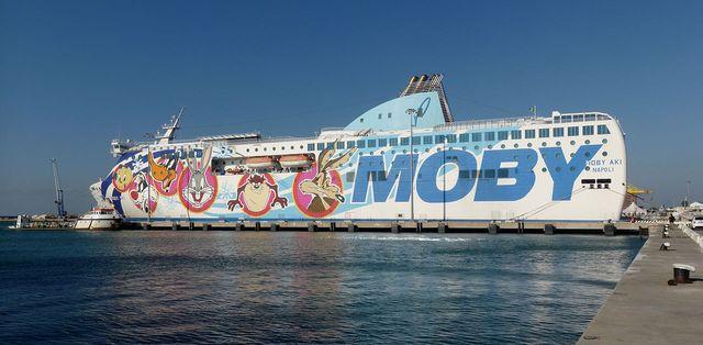 Welcher Schottland-Liebhaber fährt mit solchem Schikimiki Schiff?